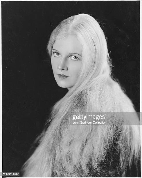 Actress Ann Harding with Long Hair