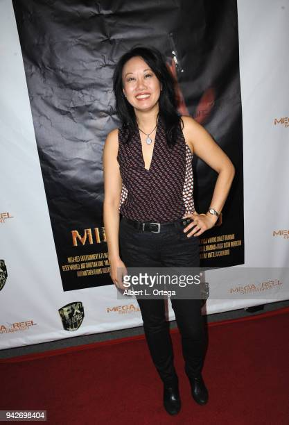 Actress Ann Hu arrives for the Los Angeles Premiere of 'Miles To Go' held at Writers Guild Theater on April 5 2018 in Beverly Hills California