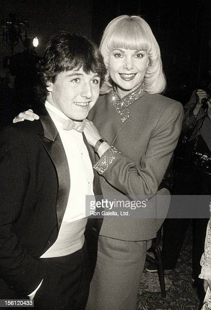 Actress Ann Jillian and actor John P Navin attending 'Youth In Films Awards' on December 4 1983 at the Beverly Hilton Hotel in Beverly Hills...