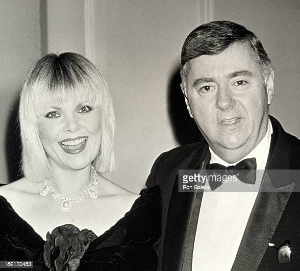 Actress Ann Jillian and Andy Murcia attending 17th Annual American Film Institute Lifetime Achievement Awards Honoring Gregory Peck on March 9 1989...