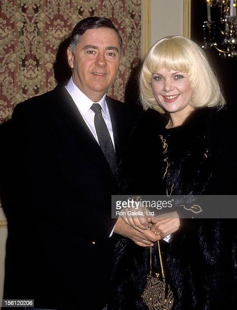 Actress Ann Jillian and husband Andy Murcia attend a 'Dinner Tribute to Bud Grant' on December 13 1985 at Beverly Wilshire Hotel in Beverly Hills...
