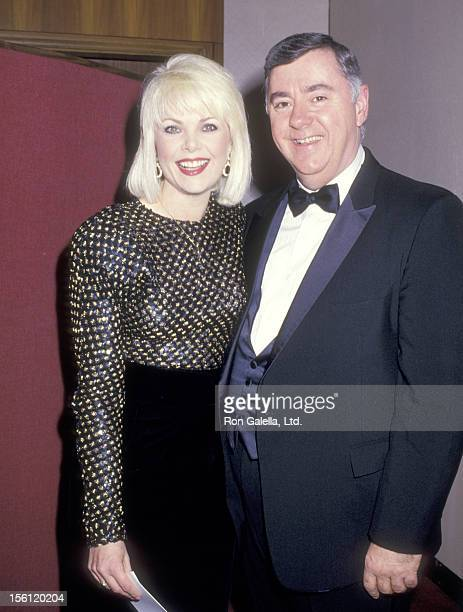 Actress Ann Jillian and husband Andy Murcia attend the 13th Annual Association of Tennis Professionals Awards on December 1 1987 at New York Hilton...