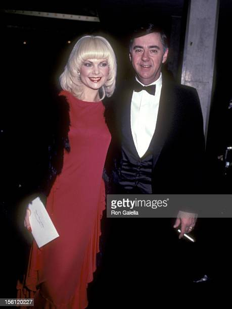 Actress Ann Jillian and husband Andy Murcia attend the 40th Annual Golden Globe Awards on January 29 1983 at Beverly Hilton Hotel in Beverly Hills...