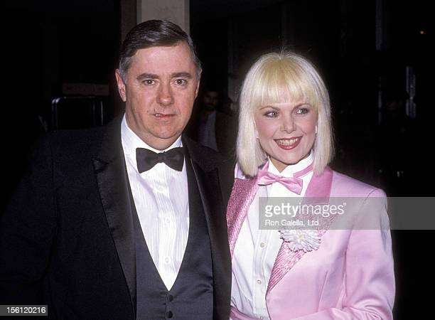 Actress Ann Jillian and husband Andy Murcia attend the 42nd Annual Golden Globe Awards on January 27 1985 at Beverly Hilton Hotel in Beverly Hills...