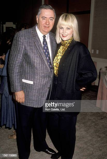 Actress Ann Jillian and husband Andy Murcia attend the 47th Annual Golden Globe Awards Nominations Annoucements on December 27 1989 at Beverly Hilton...