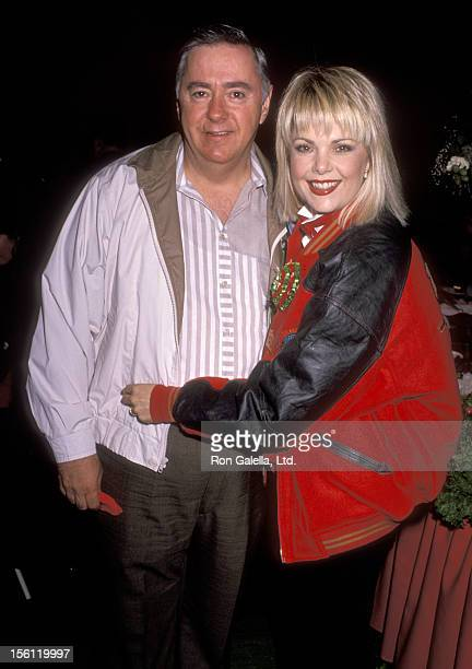 Actress Ann Jillian and husband Andy Murcia attend the 58th Annual Hollywood Christmas Parade on November 27 1989 at KTLA Studios in Hollywood...