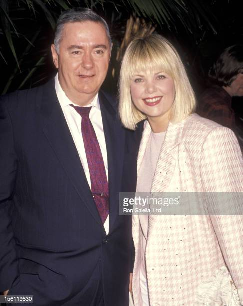 Actress Ann Jillian and husband Andy Murcia attend the 'ABC Affiliates Party' on June 14 1990 at Century Plaza Hotel in Los Angeles California