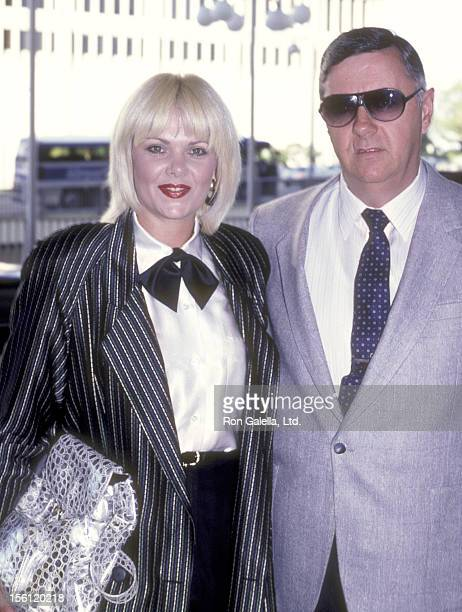 Actress Ann Jillian and husband Andy Murcia attend the 'NBC Affiliates Party' on June 18 1986 at Century Plaza Hotel in Los Angeles California