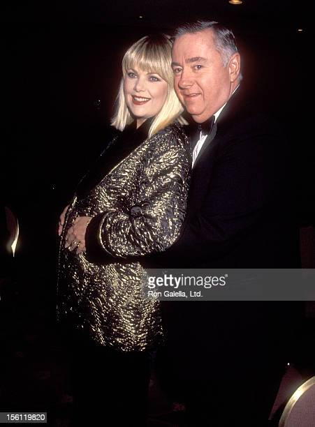 Actress Ann Jillian and husband Andy Murcia attend the 'St Clare's Foundation Gala Honoring Ann Jillian' on November 25 1991 at Marriott Marquis...