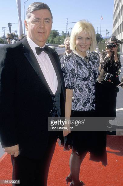 Actress Ann Jillian and husband Andy Murcia attend the 'Taping of the Television Special 'Happy Birthday Bob 50 Stars Salute Your 50 Years With NBC'...