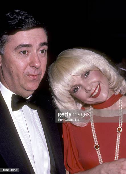 Actress Ann Jillian and husband Andy Murcia attend the 'USO Distinguished American Award Honoring Dolores Hope' on February 21 1983 at Beverly Hilton...
