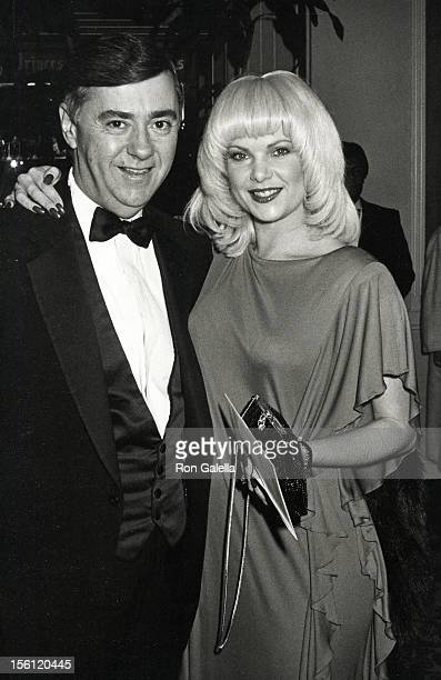 Actress Ann Jillian and husband Andy Murcia attending 40th Annual Golden Globe Awards on January 19 1983 at the Beverly Beverly Hilton Hotel in...