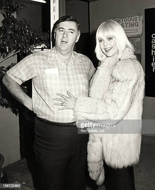 Actress Ann Jillian and husband Andy Murcia attending First Annual Stuntman's Awards on February 2 1985 at KTLA TV Studios in Los Angeles California