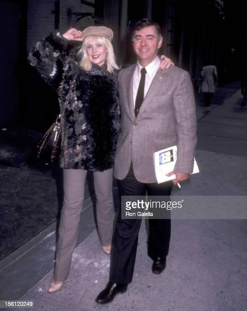 Actress Ann Jillian and husband Andy Murcia on October 3 1981 leaving Joanna's Restaurant in New York City New York