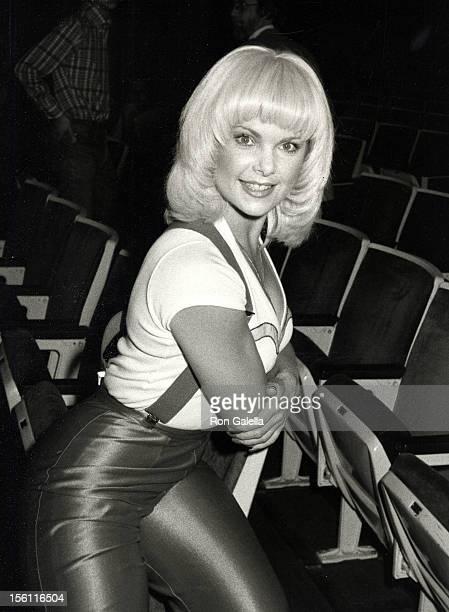 Actress Ann Jillian attending 'Bob Hope Super Bowl Party' on January 26 1983 at the Pasadena Civic Auditorium in Pasadena California