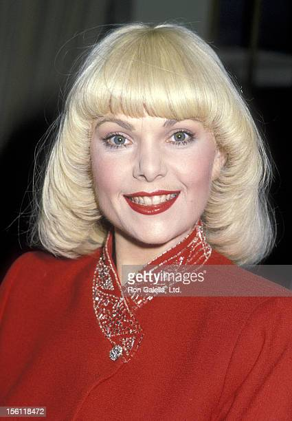 Actress Ann Jillian attends the 1983 Youth In Film/Young Artist Awards on December 4 1983 at Beverly Hilton Hotel in Beverly Hills California