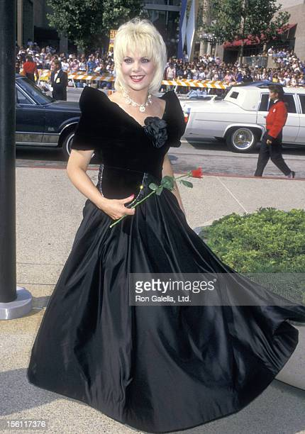 Actress Ann Jillian attends the 40th Annual Primetime Emmy Awards on August 28 1988 at Pasadena Civic Auditorium in Pasadena California