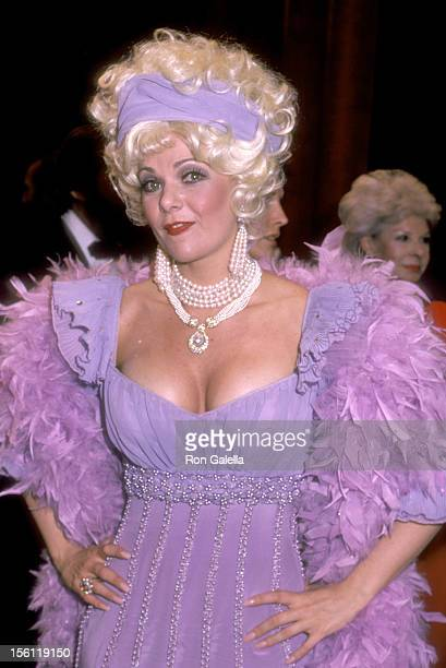 Actress Ann Jillian attends 'The Parade of Stars' Musical Peformances to Benefit The Actors Fund on May 2 1983 at Place Theatre in New York City New...