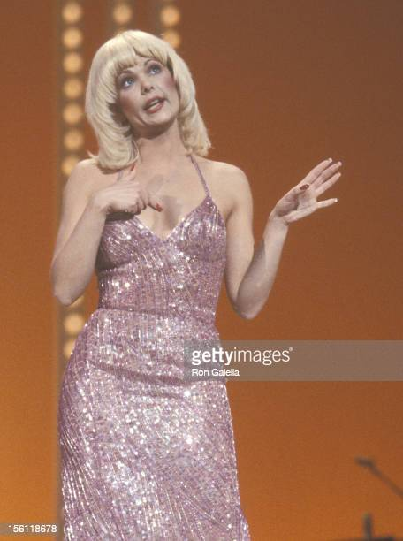 Actress Ann Jillian attends the 'Taping of the Television Special 'Bob Hope's AllStar Super Bowl Party' ' on January 26 1983 at Pasadena Civic...