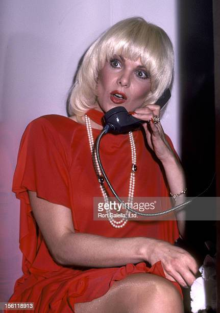 Actress Ann Jillian attends the 'USO Distinguished American Award Honoring Dolores Hope' on February 21 1983 at Beverly Hilton Hotel in Beverly Hills...
