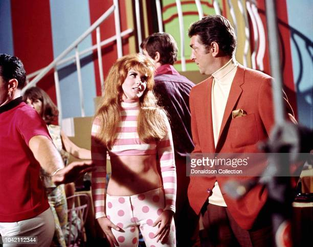 Actress Ann Margret and Dean Martin in a scene from the movie Mudrerers' Row which was released in 1966