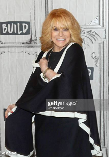 Actress Ann Margret attends the Build series to discuss 'Going In Style' at Build Studio on March 28 2017 in New York City