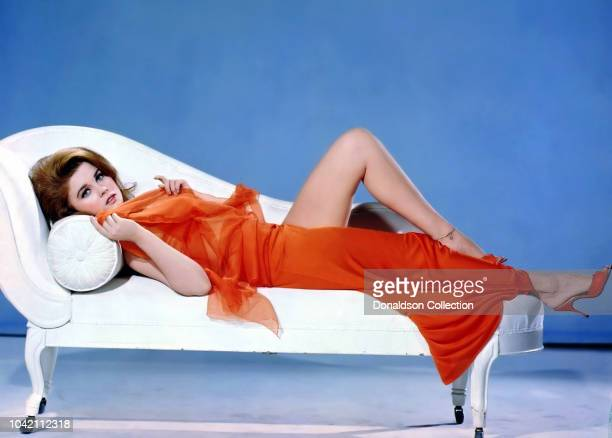 """Actress Ann Margret in a scene from the movie """"The Swinger"""" which was released on September 29, 1967."""