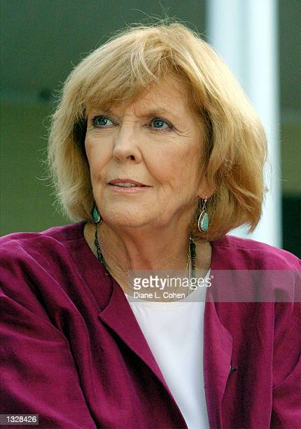 Actress Ann Meara attends the Crystal Apple Awards June 28 2001 at Gracie Mansion in New York City
