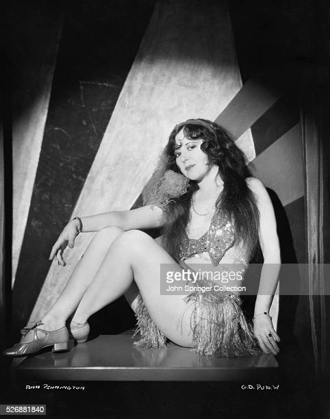 Actress Ann Pennington as her character from the 1929 film Gold Diggers of Broadway