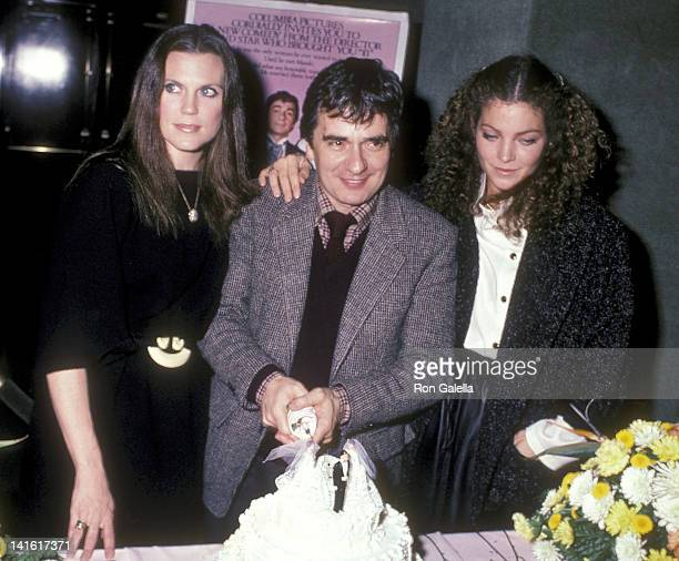 Actress Ann Reinking actor Dudley Moore and actress Amy Irving attend the 'Micki Maude' New York City Premiere on December 2 1984 at City Cinemas...