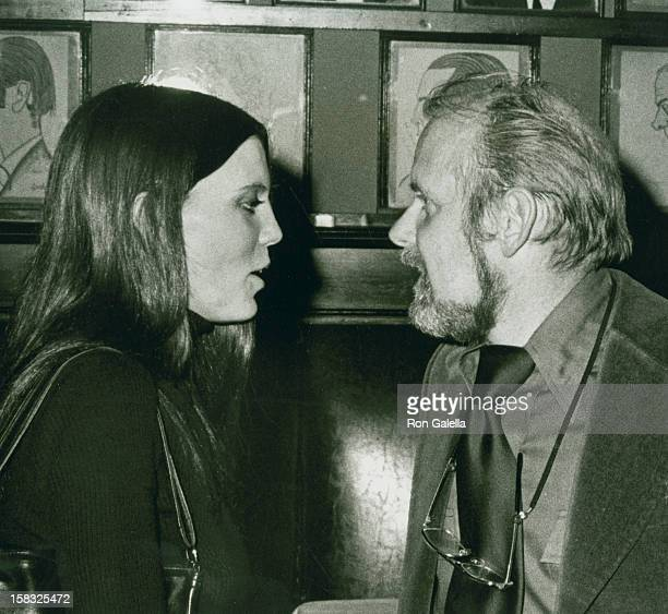 Actress Ann Reinking and director Bob Fosse attend Francis Ford Coppola Awards on January 26 1975 at Sardi's Resaurant in New York City