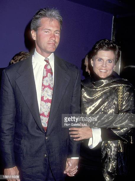 Actress Ann Reinking and husband Peter Talbert attend the 'Kiss of the Spider Woman' Broadway Opening Night Party on May 3 1993 at The Supper Club in...