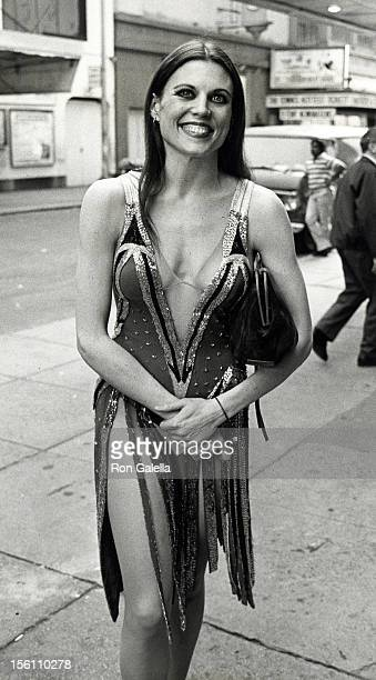 Actress Ann Reinking attending 'Tony Awards Rehearsals' on June 3 1978 at the Shubert Theater in New York City New York
