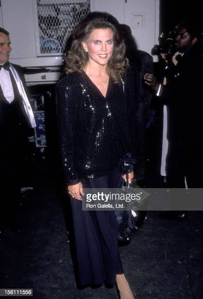 Actress Ann Reinking attends the 'Night of 100 Stars' Gala on May 5 1990 at Radio City Music Hall in New York City New York