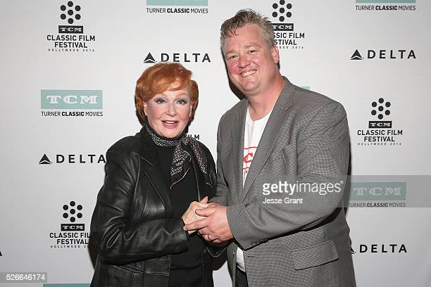 Actress Ann Robinson and Director of Program Production Studio Production Programming Scott McGee attend 'Academy conversations The War of the...