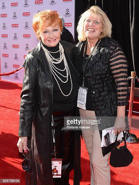 Actress Ann Robinson and VP of Talent at TCM Darcy Hettrich attend 'All The President's Premiere' during the TCM Classic Film Festival 2016 Opening...