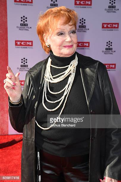 Actress Ann Robinson arrives at TCM Classic Film Festival 2016 Opening Night Gala 40th Anniversary Screening of 'All The President's Men' at TCL...