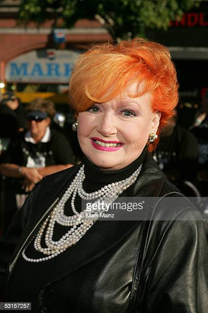 Actress Ann Robinson arrives at the Los Angeles Fan Screening of 'War of the Worlds' at the Grauman's Chinese Theatre on June 27 2005 in Hollywood...