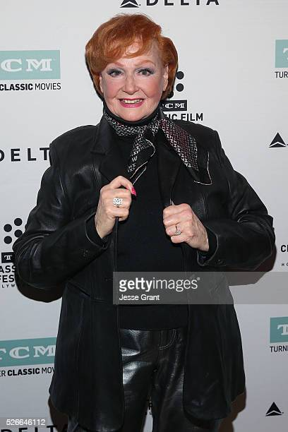 Actress Ann Robinson attends 'Academy conversations The War of the Worlds' during day 3 of the TCM Classic Film Festival 2016 on April 30 2016 in Los...