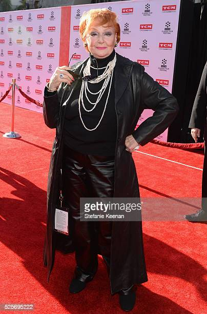 Actress Ann Robinson attends 'All The President's Premiere' during the TCM Classic Film Festival 2016 Opening Night on April 28 2016 in Los Angeles...