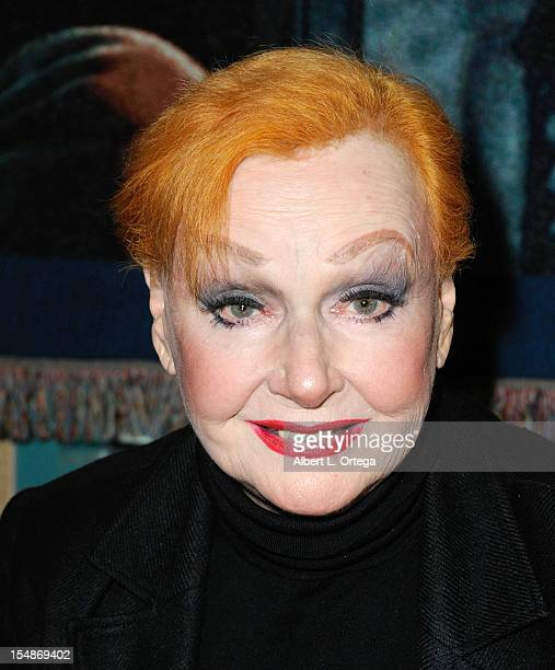 Actress Ann Robinson attends Son Of Monsterpalooza held at Burbank Marriott Airport Hotel Convention Center on October 27 2012 in Burbank California