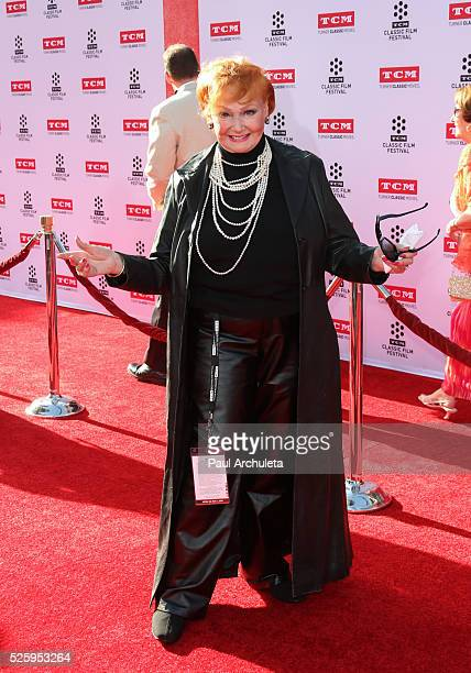 Actress Ann Robinson attends the 2016 TCM Classic Film Festival opening night gala at The TCL Chinese Theatre IMAX on April 28 2016 in Hollywood...