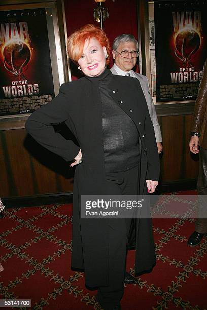 Actress Ann Robinson attends the premiere of 'War Of The Worlds' at the Ziegfeld Theatre on June 23 2005 in New York City