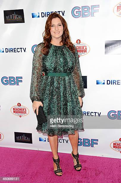 Actress Ann Russo arrives at the Los Angeles premiere of 'GBF' at Chinese 6 Theater in Hollywood on November 19 2013 in Hollywood California