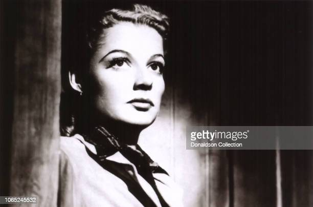 Actress Ann Sheridan in a scene from the movie 'Edge of Darkness'