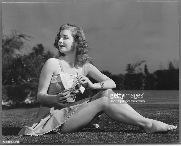 Actress Ann Sheridan in Swimwear