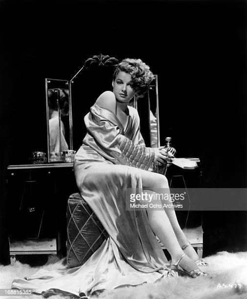 Actress Ann Sheridan poses for a studio portrait circa 1940