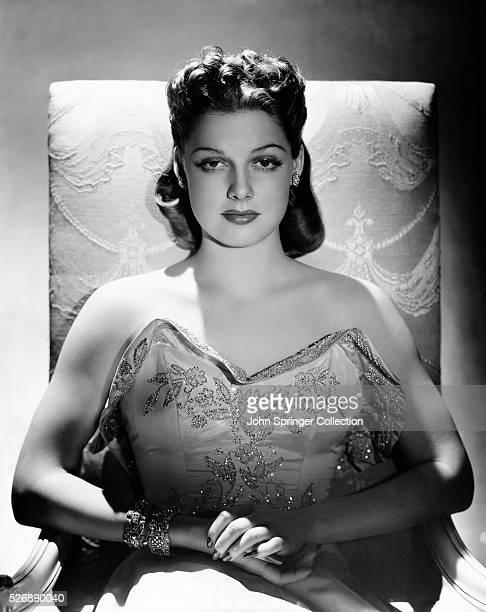 Actress Ann Sheridan Seated