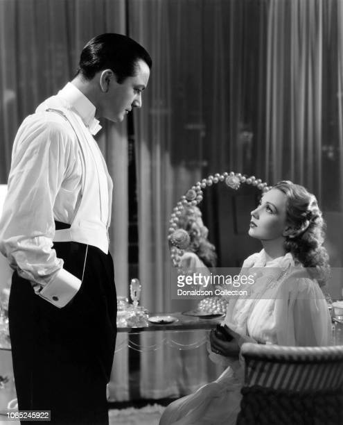 Actress Ann Sothern and Robert Young in a scene from the movie Lady Be Good