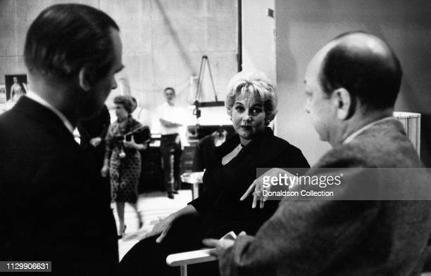 Actress Ann Sothern at rehearsal in circa 1958